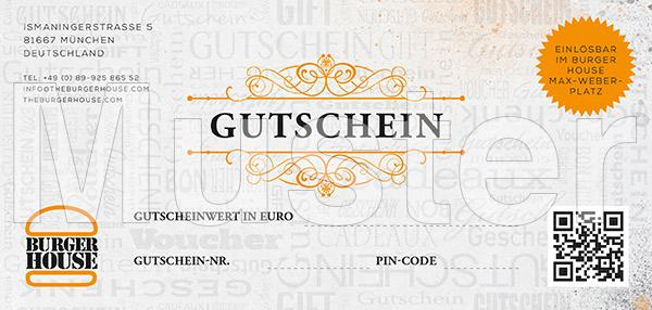 Gutschein Musterbild Burger House Max-Weber-Platz