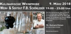 Kulinarische Weinprobe im Restaurant Am Niederwald