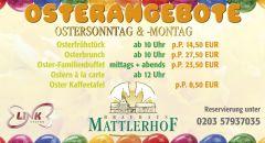 Ostern im Brauhaus Mattlerhof