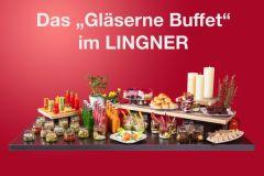 Das Gläserne Buffet im Restaurant Lingner