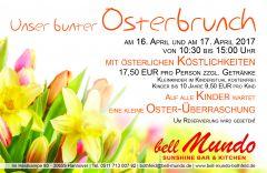 Unser bunter Osterbrunch im BELL MUNDO Bothfeld