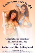 Orientalische Tanzshow im Potpourri im Kurhaus